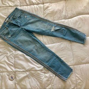 LOFT Jeans - LOFT double diamond side seamed crop jeans